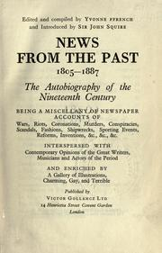 Cover of: News from the past, 1805-1887 | Yvonne Ffrench
