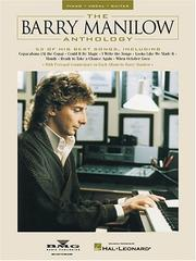 Cover of: The Barry Manilow Anthology | Barry Manilow