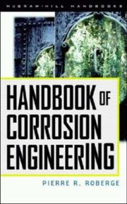 Cover of: Handbook of Corrosion Engineering | Pierre R. Roberge