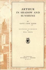 Cover of: Arthur in shadow and sunshine | Kate Cope Webb