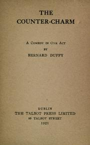 Cover of: The counter-charm | Bernard Duffy