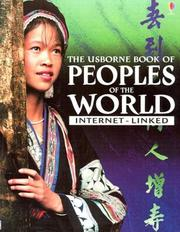 Cover of: The Usborne Book of Peoples of the World | Anna Claybourne