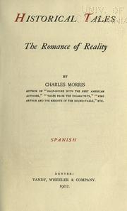 Cover of: Historical tales | Morris, Charles
