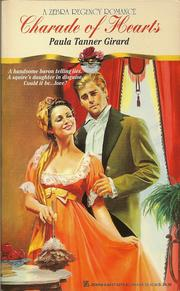 Cover of: Charade of hearts by Paula Tanner Girard