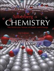 Cover of: Chemistry by M. Silberberg