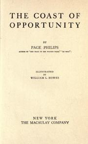 Cover of: The coast of opportunity | Page Philips
