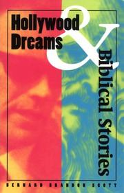 Cover of: Hollywood dreams and biblical stories | Bernard Brandon Scott