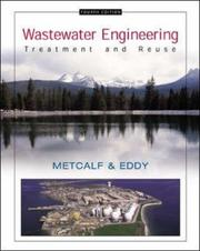 Cover of: Wastewater Engineering by Franklin L Burton