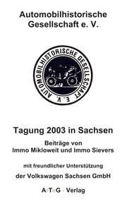 Cover of: Tagung 2003 in Sachsen | Immo Mikloweit / Immo Sievers