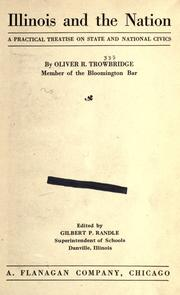 Cover of: Illinois and the nation | Oliver R. Trowbridge