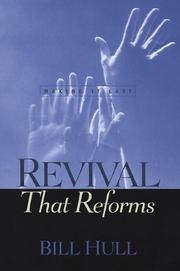 Cover of: Revival that reforms by Bill Hull