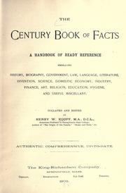 Cover of: The century book of facts | Ruoff, Henry W.