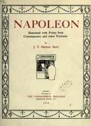 Cover of: Napoleon | James Thomas Herbert Baily