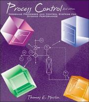 Cover of: Process Control | Thomas Marlin