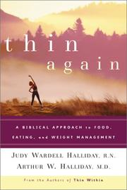 Cover of: Thin again by Arthur Halliday