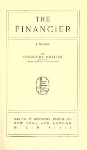 Cover of: The Financier by Theodore Dreiser