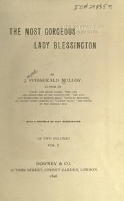 Cover of: The most gorgeous Lady Blessington by Molloy, J. Fitzgerald