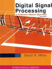 Cover of: Digital Signal Processing (McGraw-Hill Series in Electrical & Computer Engineering) by Sanjit K. Mitra