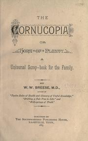 Cover of: The cornucopia | W. W. Breese