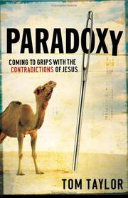 Cover of: Paradoxy | Tom Taylor