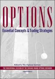 Cover of: Options:Essential Concepts by The Options Institute