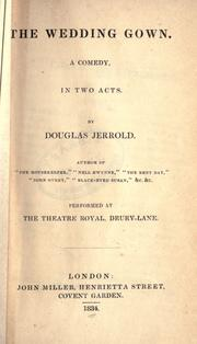 Cover of: The wedding gown by Douglas William Jerrold