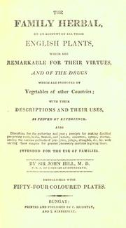 Cover of: The family herbal | John Hill