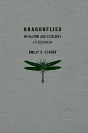 Cover of: Dragonflies by Philip S. Corbet