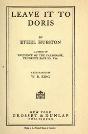 Cover of: Leave it to Doris | Ethel Hueston