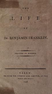 Cover of: Autobiography | Benjamin Franklin