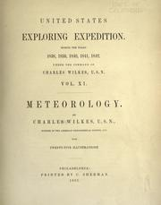 Cover of: Meteorology | Charles Wilkes