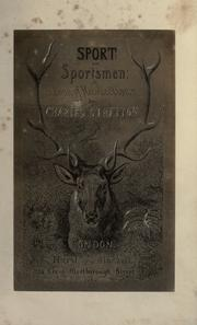 Cover of: Sport and sportsmen | Charles Stretton