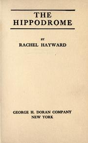 Cover of: The Hippodrome | Rachel Hayward