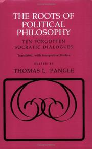 Cover of: The roots of political philosophy | Plato