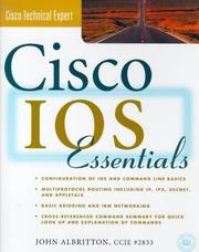 Cover of: Cisco IOS Essentials by John Albritton