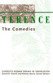 Cover of: Terence, the comedies by Publius Terentius Afer