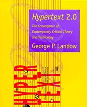Cover of: Hypertext 2.0 | George P. Landow