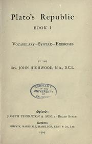 the republic book 1