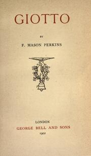 Cover of: Giotto | F. Mason Perkins