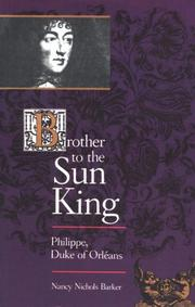 Cover of: Brother to the Sun King by Nancy Nichols Barker
