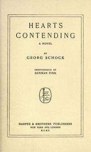 Cover of: Hearts contending | Georg Schock