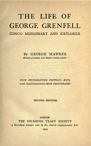 Cover of: The life of George Grenfell by George Hawker