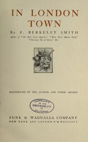 Cover of: In London town | Frank Berkeley Smith