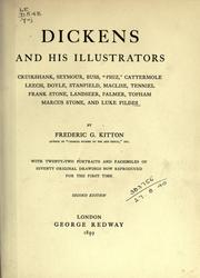 Cover of: Dickens and his illustrators by Frederic George Kitton