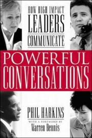 Cover of: Powerful Conversations | Phil Harkins