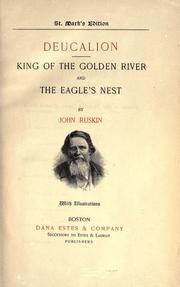 Cover of: Deucalion by John Ruskin