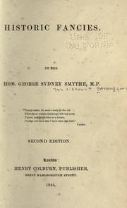 Cover of: Historic fancies by Strangford, George Augustus Frederick Percy Sydney Smythe Viscount