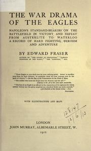 Cover of: The war drama of the eagles | Edward Fraser
