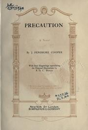 Cover of: Precaution | James Fenimore Cooper