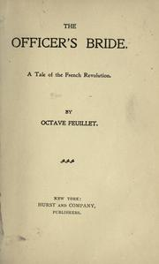Cover of: The officer's bride | Feuillet, Octave